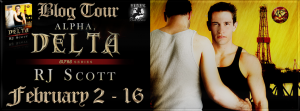 Book Tour and Review: Alpha, Delta by RJ Scott