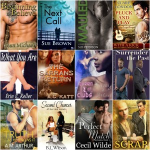 New GLBTQ Romance Books for February
