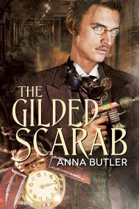 Author Spotlight: Anna Butler and her newest #mmromance The Gilded Scarab