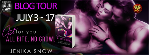 Book Tour and Giveaway:  All Bite,  No Growl by Jenika Snow