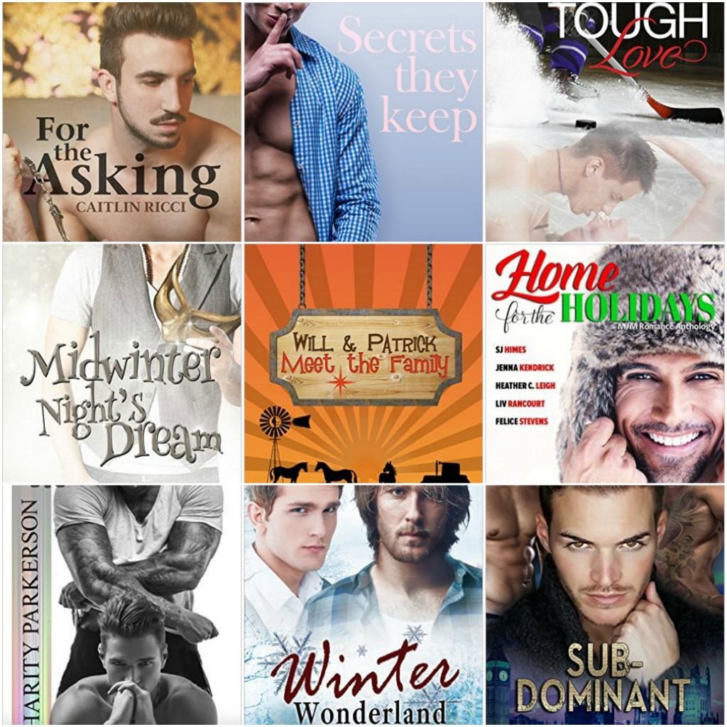 New GLBTQ Romance Books for November 2015