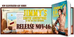 Blog Tour: Jimmy's Erotic Adventure In Time and Space Continuum by Perie Wolford