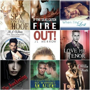 New Releases! #LGBT Romance Books for January 2016