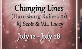 Love Hockey Romance Books? Read Changing Lines  (Harrisburg Railers #1) by RJ Scott & VL Locey!