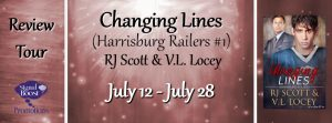 Love Hockey Romance Books? Read Changing Lines  (Harrisburg Railers #1) by RJ Scott & VL Locey!