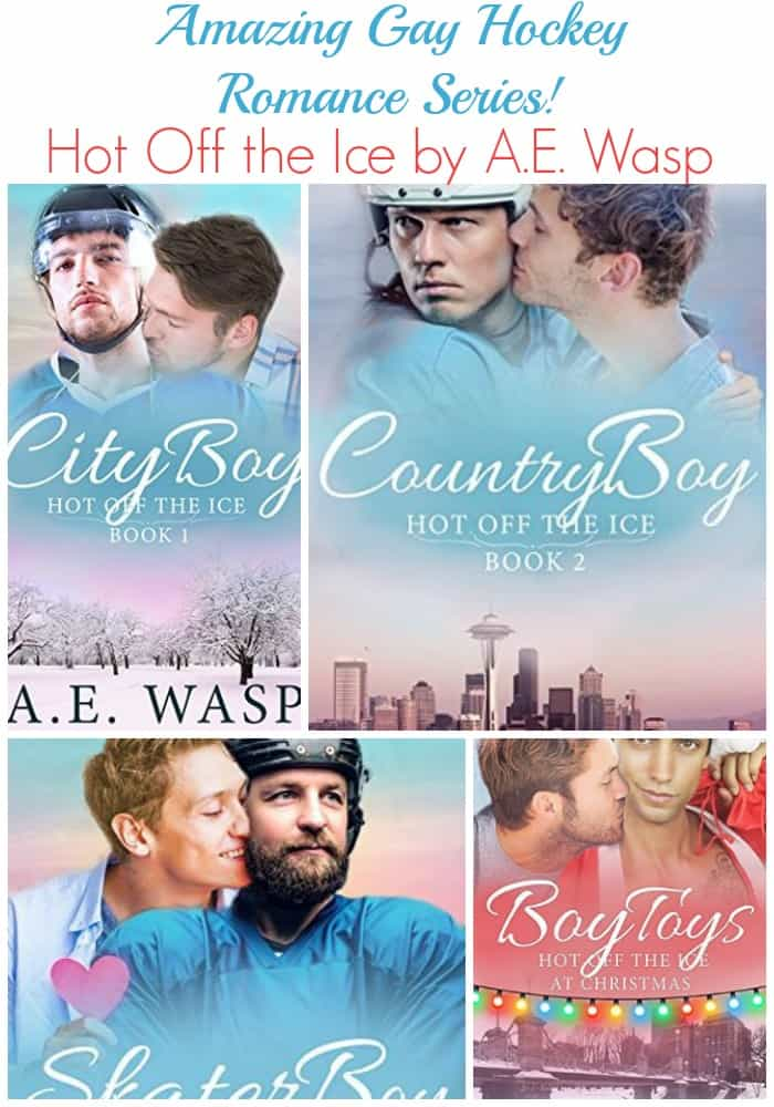 Love Hockey Romance Novels? Read the Hot Off the Ice Series by A. E. Wasp